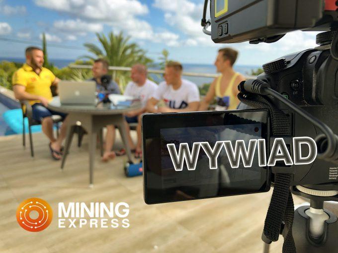 Wywiad z współwłaścicielem kopalni Mining Express
